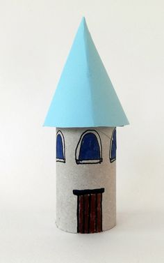house crafts toiler paper roll paper roll kids crafts architecture crafts - Sylvia Home Paper Towel Crafts, Toilet Paper Crafts, Toilet Paper Roll, Summer Crafts For Kids, Paper Crafts For Kids, Craft Kids, Castle Crafts, Fun Indoor Activities, Cardboard Castle