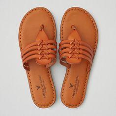AEO Huarache Slide Sandals ($20) ❤ liked on Polyvore featuring shoes, sandals, tan, huarache sandals, synthetic shoes, tan shoes, slide sandals and hurache shoes
