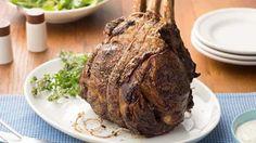 Get Sunday Rib Roast Recipe from Food Network