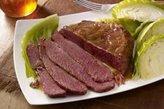 Corned Beef Brisket with Cabbage recipe