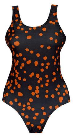 """Swimsuit """"bambi black"""" by studio nono http://studio-nono.net"""