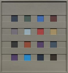 John Pittman : Images : New Work - Shadow Relief Paintings