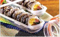 Lock&Lock Gimbap and Food container Sausage Roll Sandwich portable Bento box 2pc #LockLock