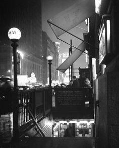 New York City Subway 1942 | Underground Scene: New York's Subway Back in the Day | LIFE.com