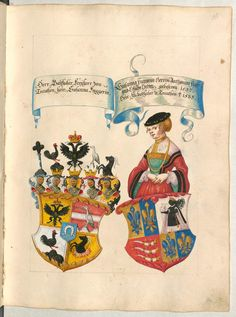Belgium Coat of Arms 1500s Fashion, German Costume, German Outfit, Landsknecht, Renaissance Clothing, Central Europe, Book Binding, New Pins, Coat Of Arms