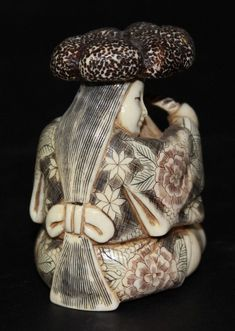 Buy online, view images and see past prices for Japanese Finely Carved Ivory Netsuke. Invaluable is the world's largest marketplace for art, antiques, and collectibles. Japanese Calligraphy, Sculpture, Linocut Prints, Art Object, Woodblock Print, Asian Art, Japanese Art, Hand Carved, Chinese Painting