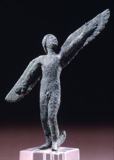 Bronze Figure of Icarus c.430 BC Classical Greek (Source: The British Museum
