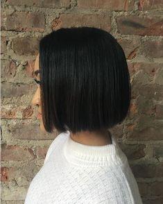 Der Blunt Cut: Das ganze Haar ist gleich lang - genau das Richtige für den geradlinigen Skorpion!