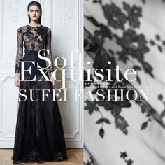 Exquisite embroidery gauze lace cloth fabric dress fabric spring and summer fabric US $70.00