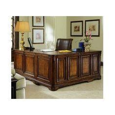 Riverside Furniture Allegro L Shaped Executive Desk And