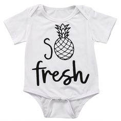 Baby Onesies Be a Pineapple Best 100/% Cotton Bodysuits Stylish Short Sleeve Bodysuit