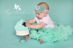 First birthday picture idea?