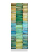 """Emerald Gold by Robert A. Brown and Anne Moran (Metal Wall Sculpture) (44"""" x 16"""")  $ 2,800"""