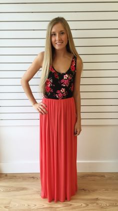 Fiona Floral Maxi - The Style Bar Boutique  - 1