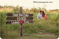 Save the Date Ideas, 360 West Weddings, Fall 2013