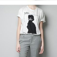 Yoko Ono T-Shirt. Get it at http://oaktree.storenvy.com