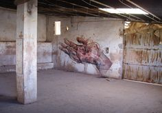 EMILIO CEREZO  'Estigma'  [Totana, Spain 2014] (1) Urban Art, Spain, Painting, Decor, Cherry Tree, City Art, Decoration, Street Art, Sevilla Spain