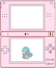 cute anime kawaii myedit pastel pixel pixels DS transparent nintendo ds