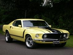 ✿1969 Ford Mustang Boss✿