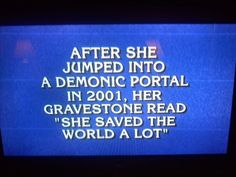 On Jeopardy :-)