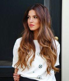 bronde- brunette