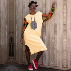 South African dresses designs From Shop Zuvaa - Reny styles South African Dresses, South African Fashion, African Print Fashion, Fashion Prints, African Outfits, Africa Fashion, African Prints, African Street Style, African Style