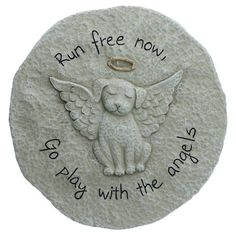 Dog Memorial Garden Stepping Stone