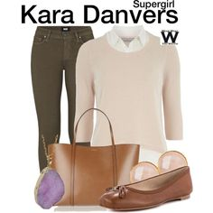 Inspired by Melissa Benoist as Kara Danvers on Supergirl.