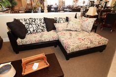 Graffiti Sofa Sectional - Colleen's Classic Consignment, Las Vegas, NV - www.colleenconsign.com