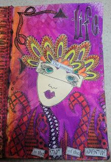 8 Cards Devoted Dylusions By Dyan Reaveley Postcards Set 2