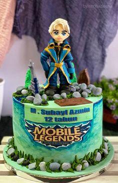 Alucard Mobile Legends, Fondant, Cake Decorating, Birthday Cake, Kit, Cakes, Desserts, Collection, Food