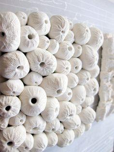 @Candice Sciantarelli Wright Sea anemone Wall Sculpture