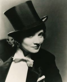 Marlene Dietrich, 1930, from her film Morocco