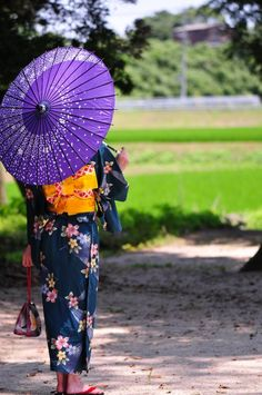 Japanese summer kimono -yukata-