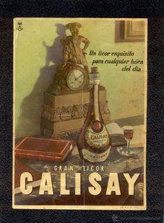 Cárteles antiguos de publicidad- Calisay