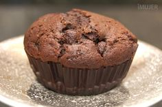 Muffins de chocolate y cerveza negra - IMujer