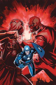 CAPTAIN AMERICA Steve Rogers # 3Hydra vs Hydra! El Cráneo Rojo contra Zemo, con el Capitán América atrapado en el fuego cruzado.  • El juicio de Maria Hill comienza.