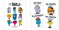 Des livres Monsieur Madame, mais avec Doctor Who | Topito