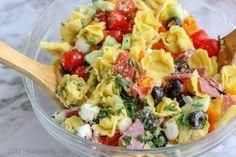 Fruit Salad, Cobb Salad, Italian Sub, Pasta Salad With Tortellini, Soup Recipes, Potato Salad, Grilling, Salads, Bbq