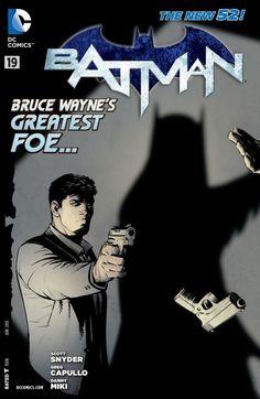 The New 52 Batman, Batman Love, Batman Art, Batman And Superman, Dc Comics, Batman Comics, Comic Book Covers, Comic Book Heroes, Comic Books