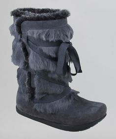 Take a look at this Gray Pike Boot by Kalso Earth Shoes on #zulily today!