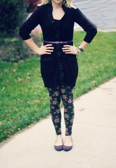 30 modi di indossare i leggings in inverno #leggings #comeindossare