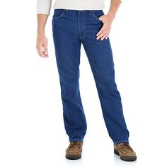 Wrangler Men's Hero Stretch Fit Jeans (Size: 42x29)