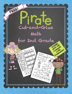 FREE! This freebie includes 10 pages of Common Core* based cut-and-glue math for second grade.  It is similar to my other second grade cut-and-glue math sets.  While this is just a sample, each of the other sets address ALL 26 of the Common Core* standards for second grade math!