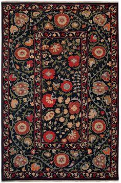 Tibet Rug Company Soumak Suzani 12 Area Eclectic Decor Handmade Rugs