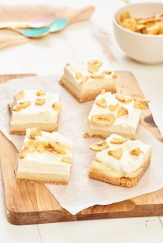 Recipe: Banana Pudding Bars — Easy Dessert Recipes