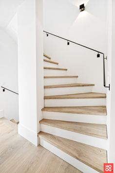 Home Decor > Stairs House Staircase, Staircase Design, Staircase Remodel, Stair Renovation, Stair Makeover, Modern Stairs, Interior Stairs, My Dream Home, Future House