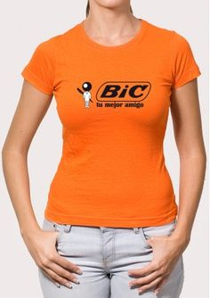 Camiseta Bic Retro T Shirts, Flannels, The Originals, Pants, Stamping, People