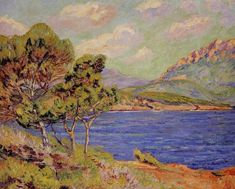 Armand GUILLAUMIN «La Baie d'Agay: Côte d'Azur»