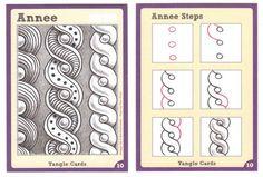 Tangle+Card+-+Annee by Sandy Steen Bartholomew, Certified Zentangle Teacher